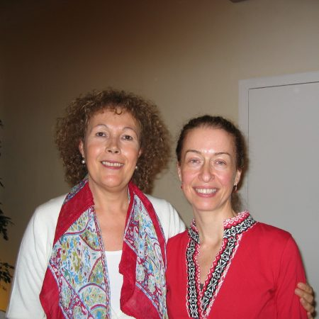 Foto con Montse Bradford diciembre 2009
