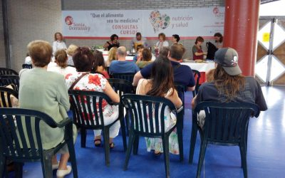 Feria Ecologica de Vegadeo Sonia Oceransky Show Cooking ecologico taller participativo año 2015 cocina energetica vegana vegetariana comidas saludables merienda sana